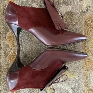 MARC JACOBS Pointed Toe Booties Size 9   IT 39